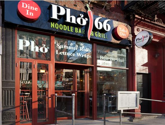 Pho 66 Restaurant Brand Development For New York City