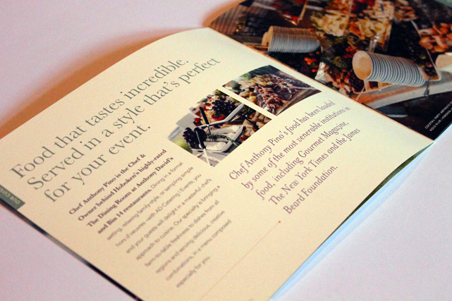 Ad Catering Amp Events Catering Brochure