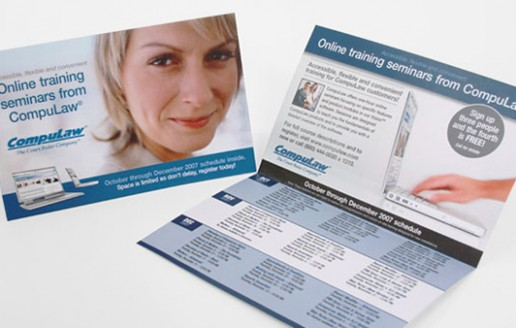 education direct mail design