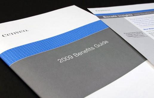 employee benefits brochure design