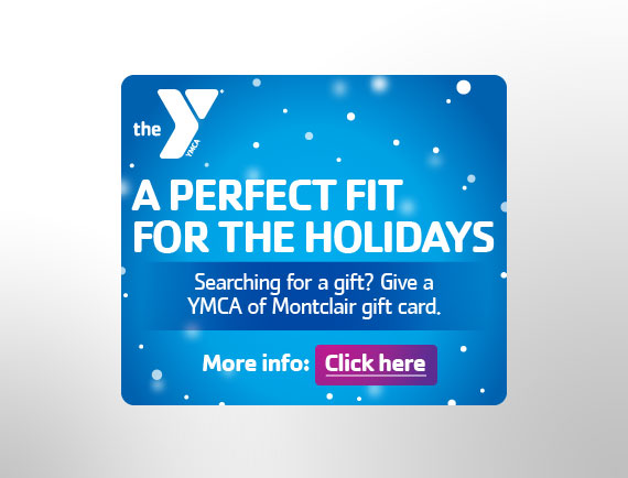 Banner Ad Design Holiday Promotion Campaign Montclair YMCA