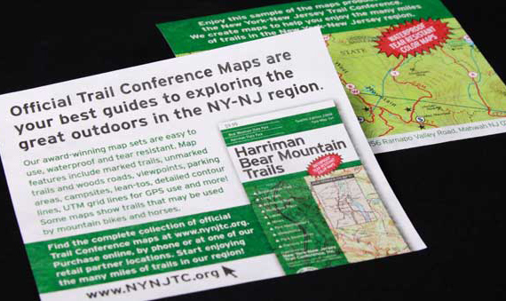 NY-NJ Trail Conference appeal mailing with inserts