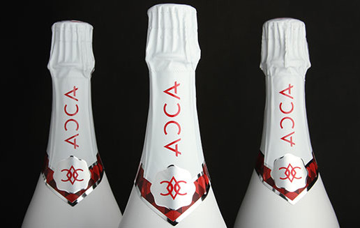 Champagne Bottle Topper Design