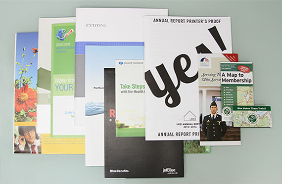 Are printed brochures dead?