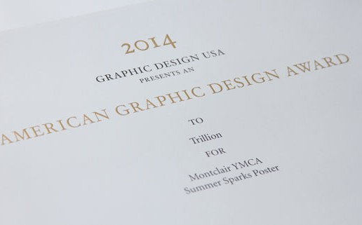 Trillion of Summit NJ Graphic Design USA Award