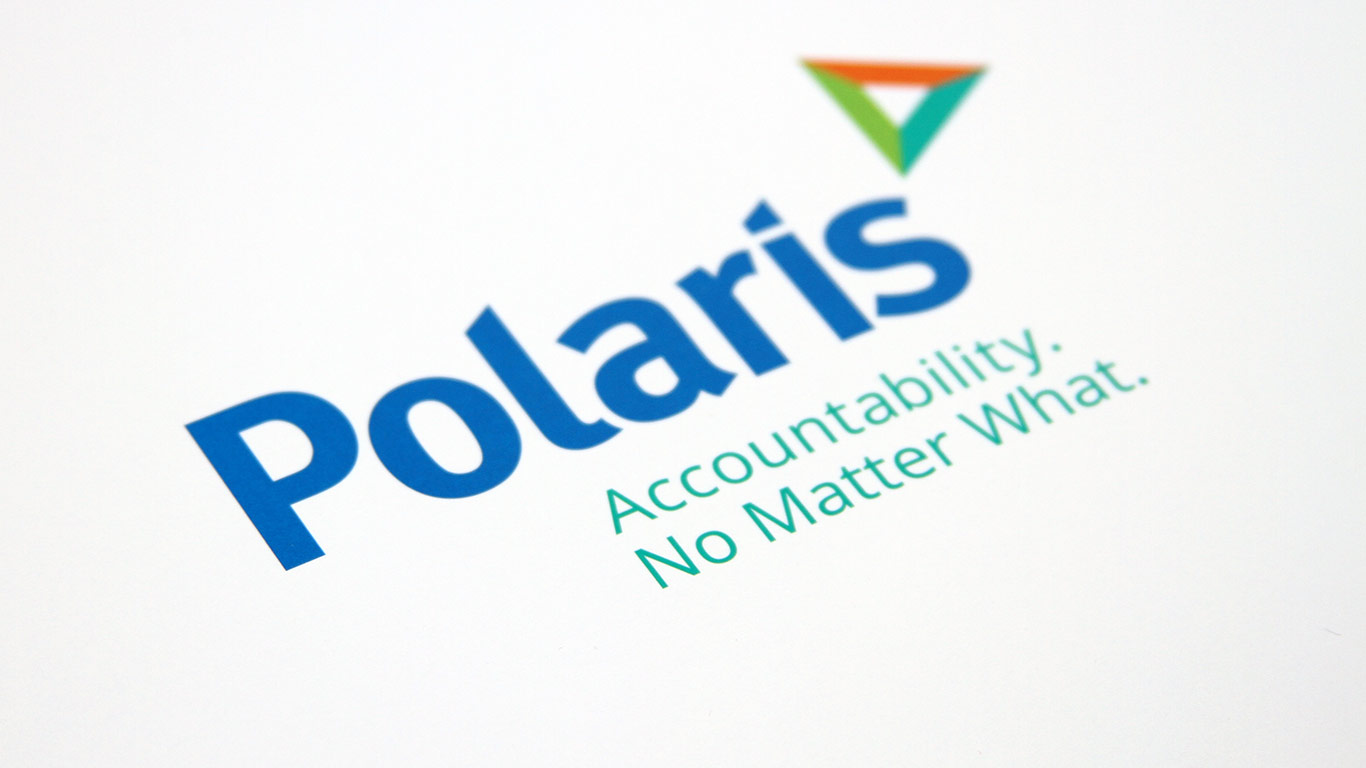 Corporate rebranding: Healthcare rebrand for Polaris