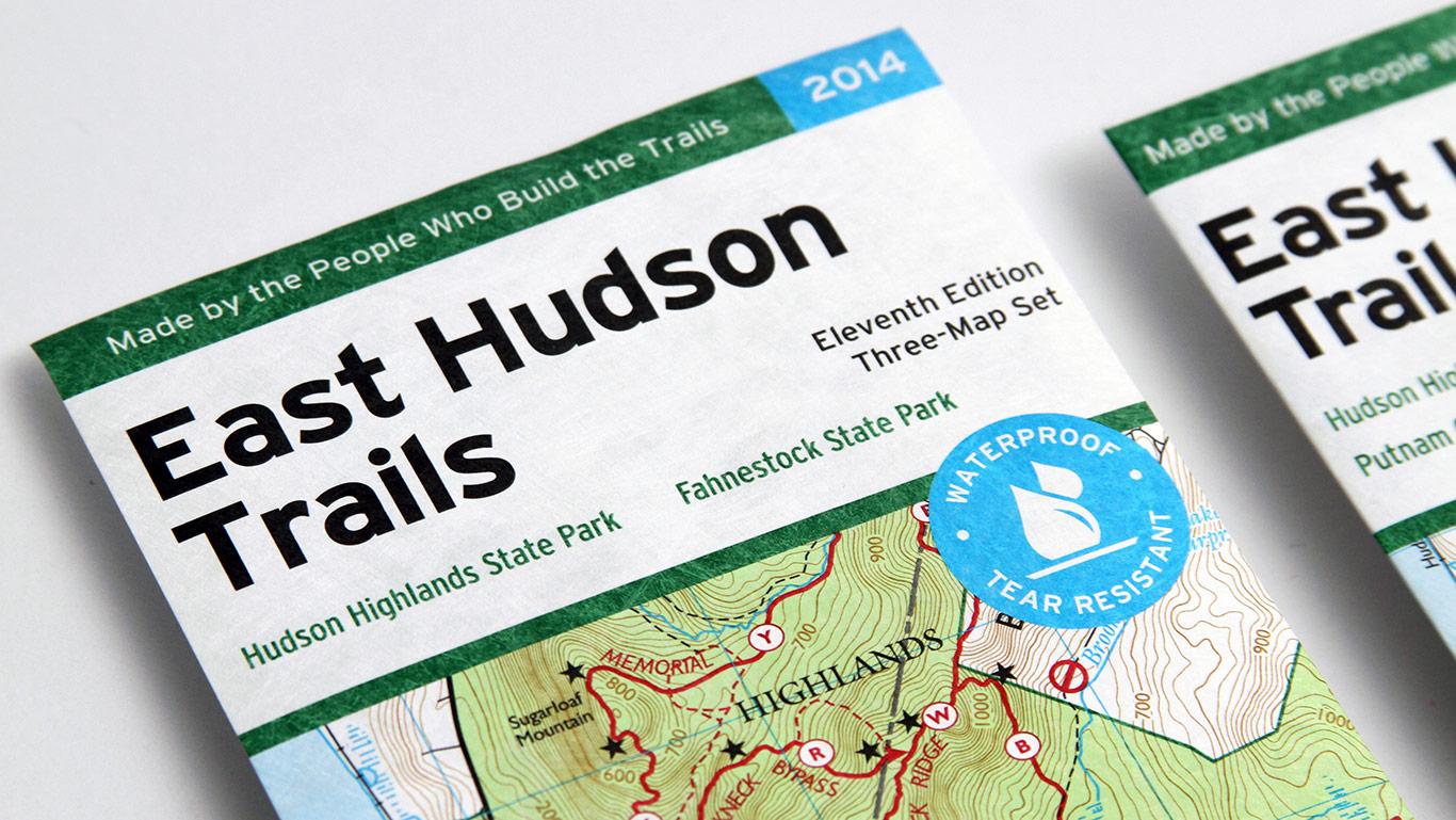 East Hudson Trail Map Cover – Not for Profit Publication Design
