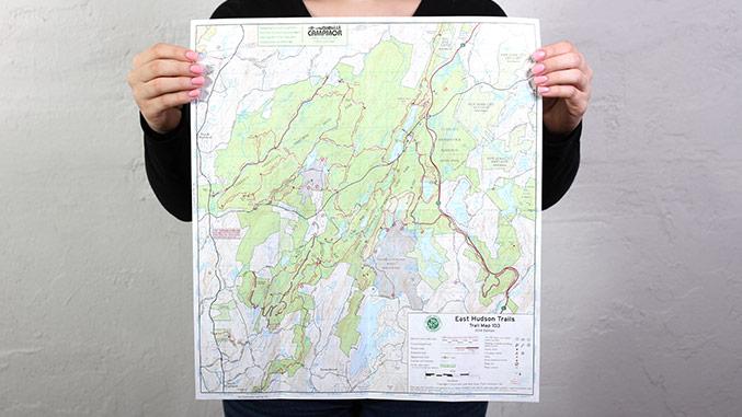 East Hudson Trail Map – Not for Profit Publication Design