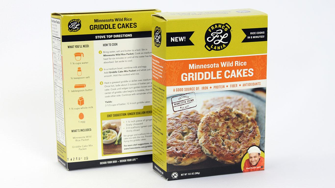 Award-winning gourmet food package design