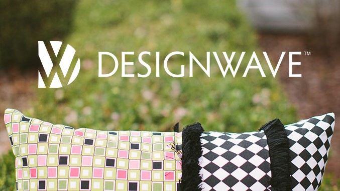 Logo design for DesignWave luxury pillows