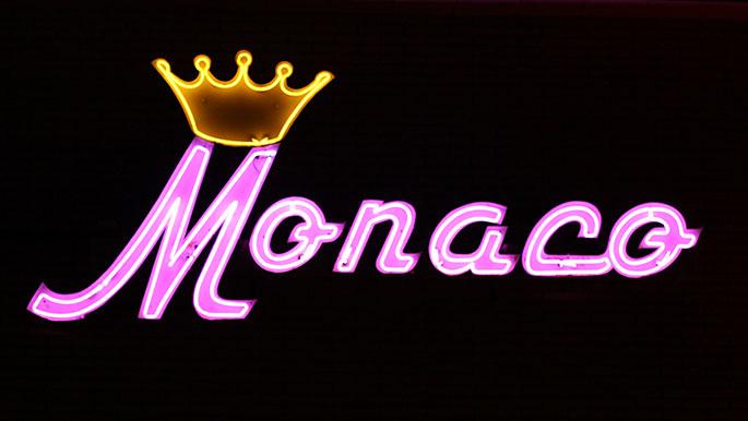 Monaco-Wildwood-NJ-Signage