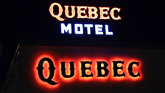 Quebec-Motel-Wildwood-NJ-Signage