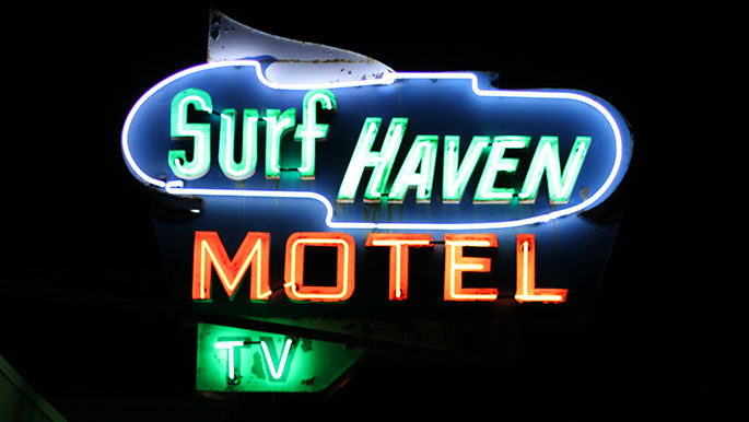 Surf-Haven-Motel-Wildwood-NJ-Signage
