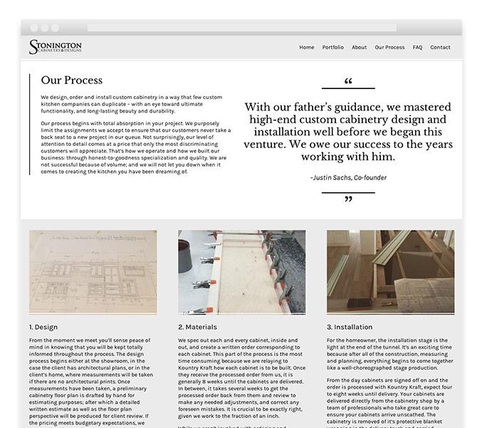 Interior design portfolio responsive website 3a trillion for Interior design website portfolio