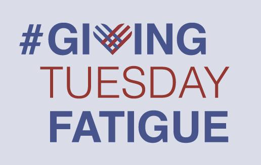 Not for profit graphic designer givingtuesday fatigue