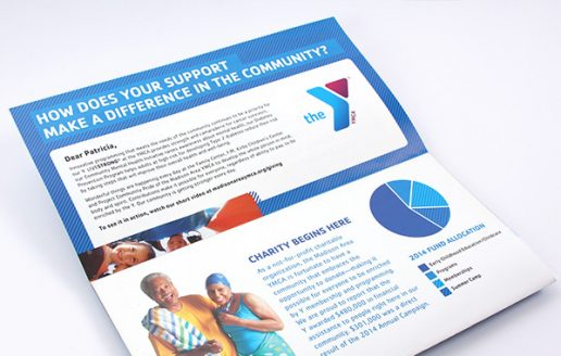 Non-profit direct mailer design