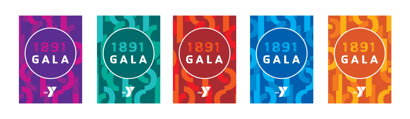 YMCA gala palette for future events.