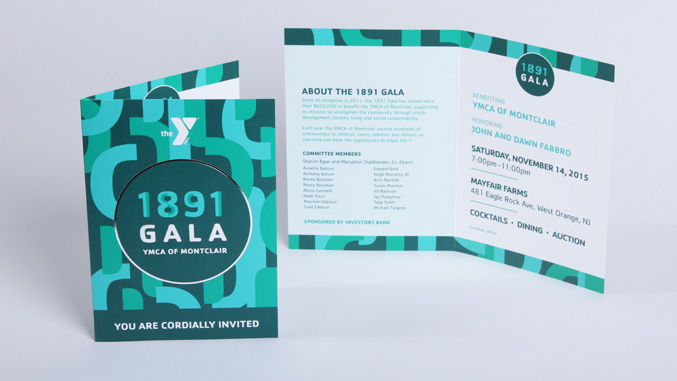 Ymca Of Montclair  Gala Event Branding  Design