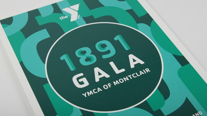 YMCA 1891 gala poster detail