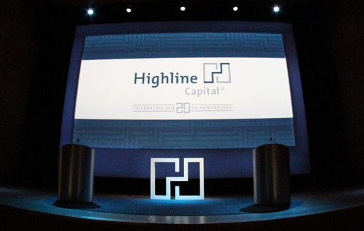 Trillion designed the logo for a hedge fund's 20th anniversary event