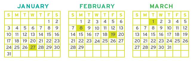 Calendar2 Trillion Creative