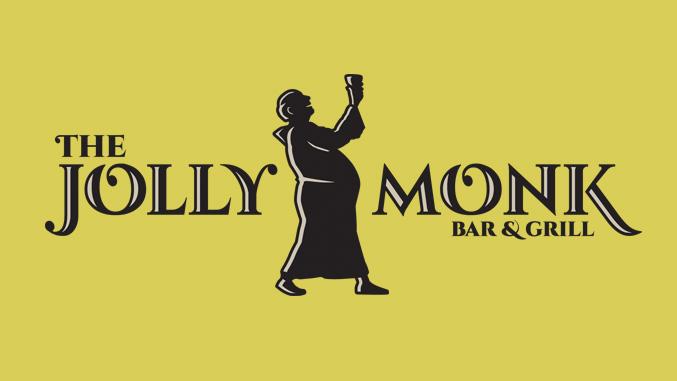 Restaurant logo designer. Logo design for The Jolly Monk.