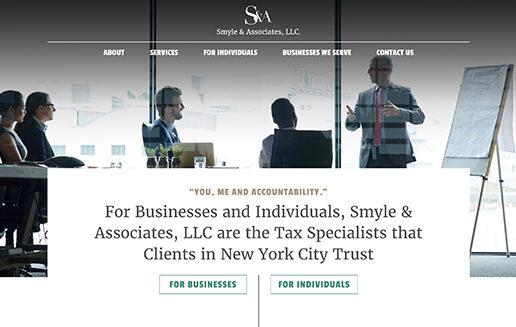 Smyle and Associates Web Design