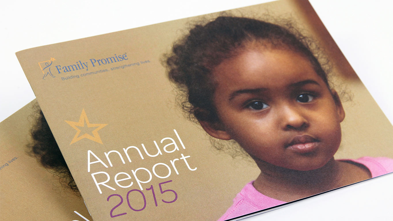 Annual Report Design for Non-profit – Trillion Creative