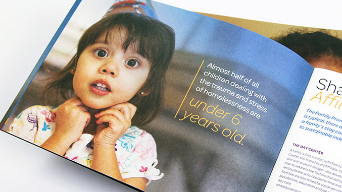 Annual Report Brochure Design for Non-profit – Trillion Creative