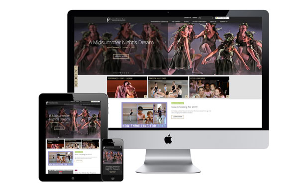 American Repertory Ballet website design redesign Graphic Design USA American Web Design Awards Award Winner