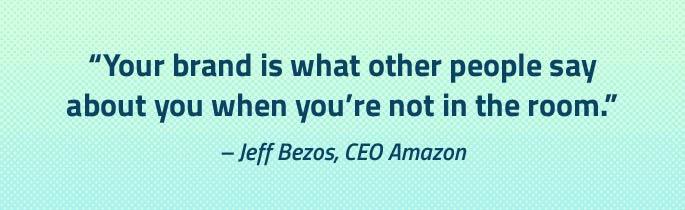 branding rebranding brand refresh expensive money cost bad logo design marketing Summit NJ design agency quote Jeff Bezos Amazon