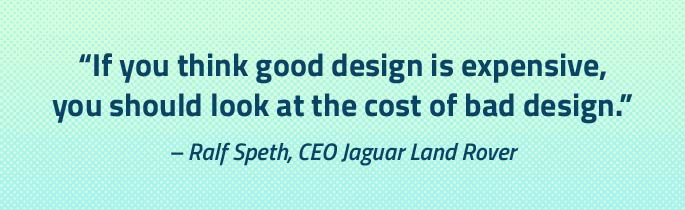 branding rebranding brand refresh expensive money cost bad logo design marketing Summit NJ design agency quote Ralf Speth