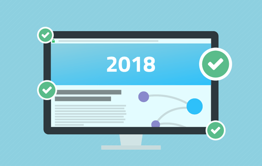 top 10 web design trends 2018 not-for-profit non-profit mobile security