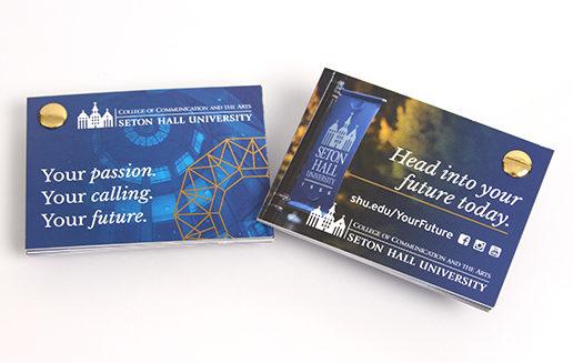 Higher Ed Graphic Designer Foil Handout Rotate