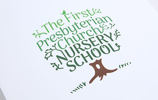 Nursery School Logo Design Branding