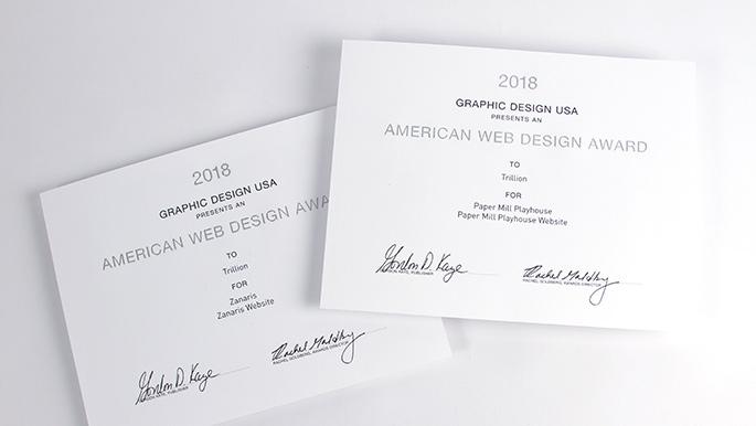 Summit nj web design company creates two more award winners gd usa award winner 2018 summit nj web design company paper mill playhouse zanaris reheart Choice Image